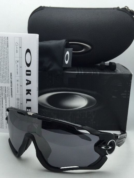 5fb35d68f3 S l1600. S l1600. Previous. New OAKLEY Sunglasses JAW BREAKER OO9290-01 Polished  Black w  Black Iridium lens