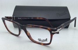 New PERSOL Rx-able Eyeglasses 3030-V 24 52-17 140 Havana Tortoise Frame w/ Clear