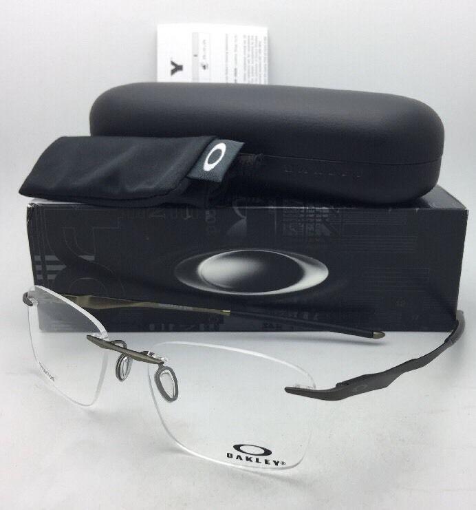 26a90ce2bab S l1600. S l1600. OAKLEY Eyeglasses WINGFOLD EVS OX5115-0153 Rimless  Titanium Satin Pewter Frame