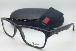 New RAY-BAN Eyeglasses HIGHSTREET RB 5279 2012 55-18 Dark Havana Tortoise Frames