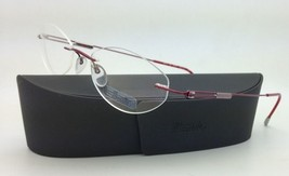 New SILHOUETTE Eyeglasses TITAN NEXT GENERATION III 6619 6079 49-17 Red ... - $265.95