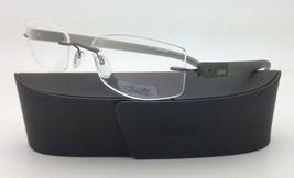New SILHOUETTE Eyeglasses ENVISO 7645 6052 53-19 Khaki Green w/ Clear le... - $279.95