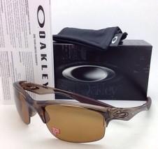 Polarized OAKLEY Sunglasses BOTTLE ROCKET OO9164-05 Brown Smoke w/ bronze lenses