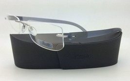 New SILHOUETTE Eyeglasses ENVISO 7679 6060 55-21 Concrete Grey w/ Clear ... - $263.95