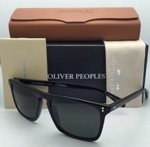 Polarized OLIVER PEOPLES Sunglasses BERNARDO OV 5189-S 1005/N5 Black w/Grey Lens