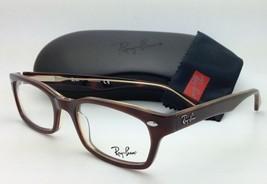 New RAY-BAN Rx-able Eyeglasses/Frames HIGHSTREET RB 5150 2019 Brown Havana /Demo