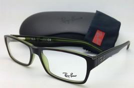 RAY-BAN Rx-able Eyeglasses/Frames HIGHSTREET RB 5169 2383 54-16 Havana on Green