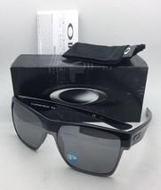Polarized OAKLEY Sunglasses TWOFACE XL OO9350-01 Black Frames w/ Black Iridium