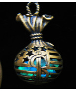 Haunted PENDANT Money Gift Wealth Spell Green Glowing Bag Witch MAGICK Cassia4 - $26.86
