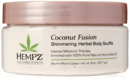 Hempz Coconut Fusion Herbal Shimmering Body Souffle - $14.81
