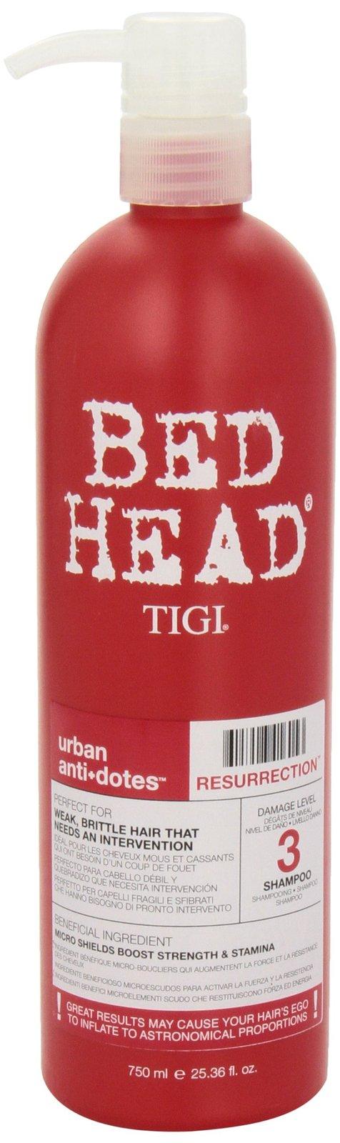 Tigi Bed Head Urban Anti+dotes Resurrection Shampoo Damage Level 3, 25.36 Ounce