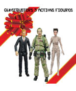 Ghostbusters Select Series 4 Complete Set (Gozer, Walter Peck, Slimed Pe... - $99.22