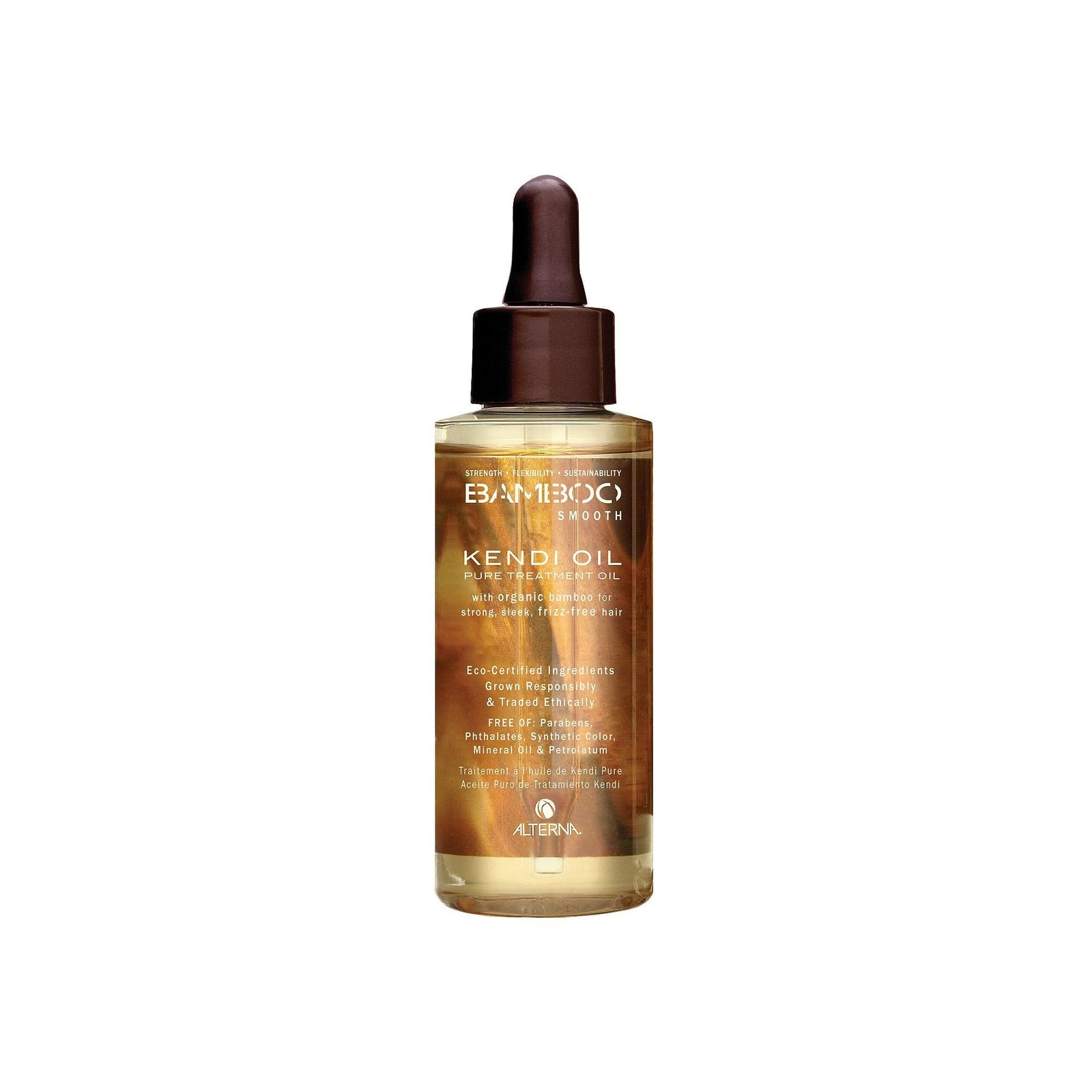 Alterna - Bamboo Smooth Pure Kendi Treatment Oil (For Thick & Coarse Hair...