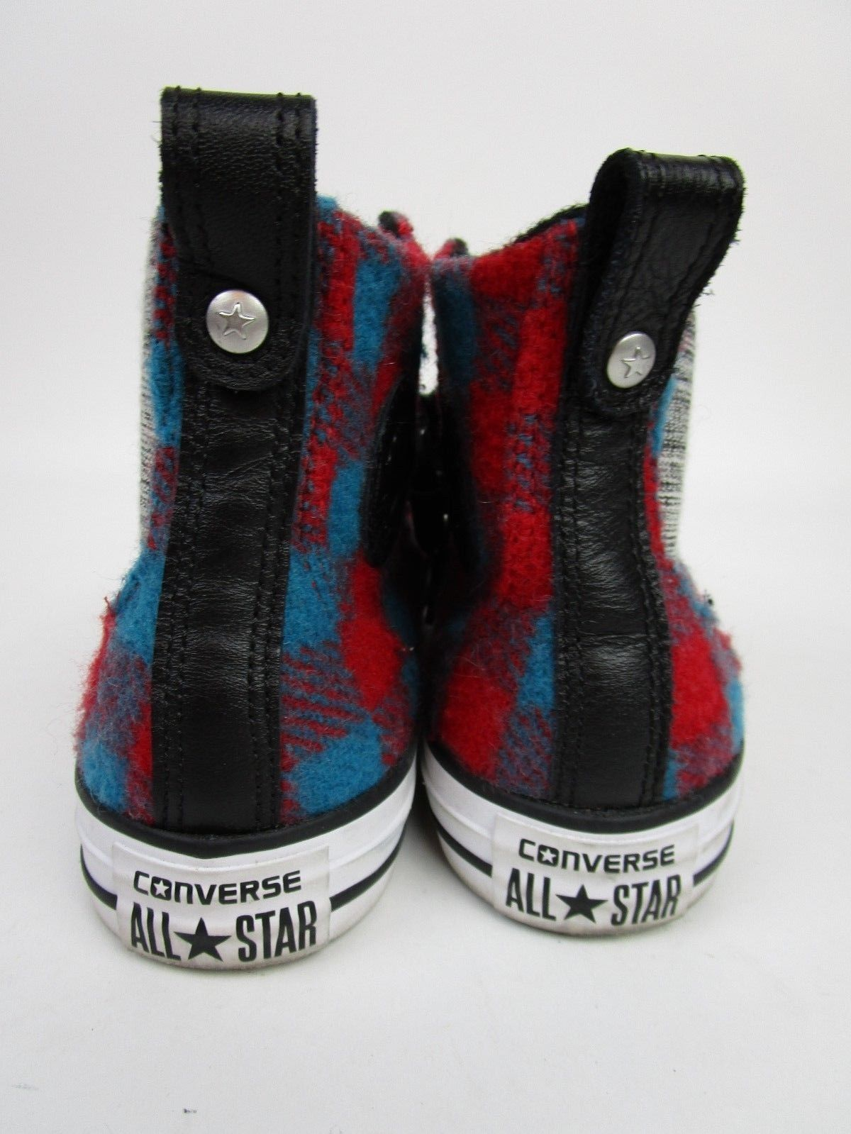RARE CONVERSE ALL STAR Chuck Taylor WOOLRICH Hi Top Shoes Women Sneakers Size 6