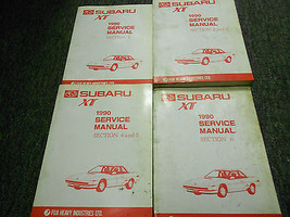 1990 Subaru XT Service Repair Workshop Shop Manual Set Factory OEM Subar... - $104.88