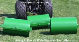 Turf Roller Multi Gang Heavy Duty Pull Type Hitch - $5,500.00