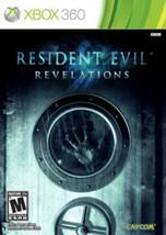 Resident Evil Revelations (Microsoft Xbox 360, 2013) *OPEN BOX* - $19.79