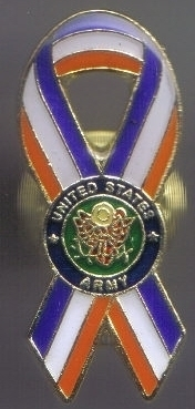 12 Pins - UNITED STATES ARMY PATRIOTIC RIBBON PIN 4978