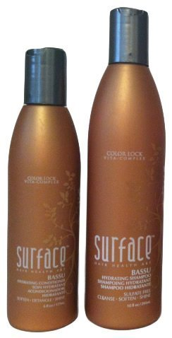 Surface Bassu Hydrating Shampoo 10oz & Conditioner 6oz Duo