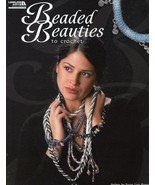 Beaded Beauties to Crochet Pattern Jewelry Leaflet -  30 Days To Shop & ... - $7.17
