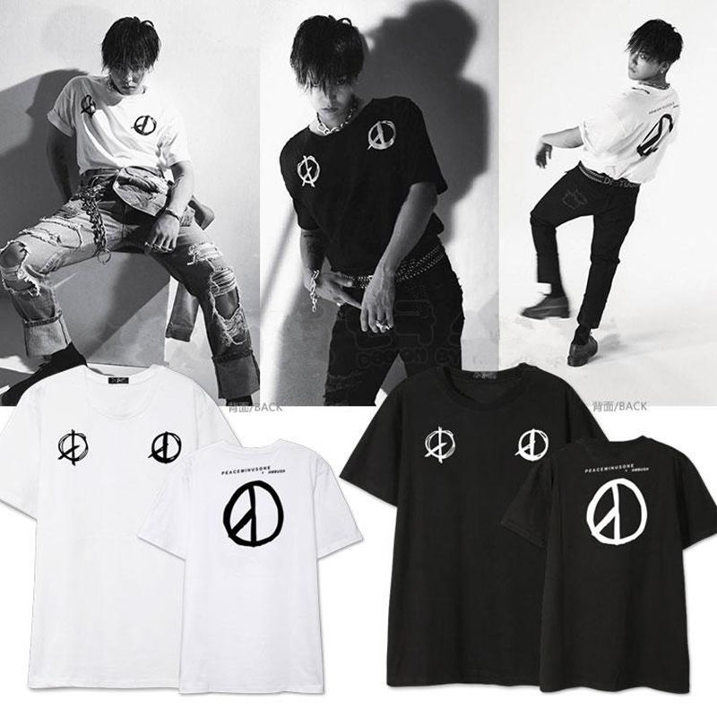 Kpop Bigbang GD T-shirt Made Full Tshirt G-Dragon Tee Tops Unisex for sale  USA