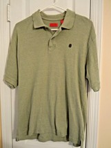 Izod Men's Size M Light Green S/S Polo Shirt w/Embroidered Izod Logo EXC... - $7.12