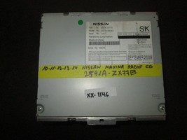 10 11 12 13 14 Nissan Maxima Radio Cd #2591A-ZX77B *See Item Description* - $89.10
