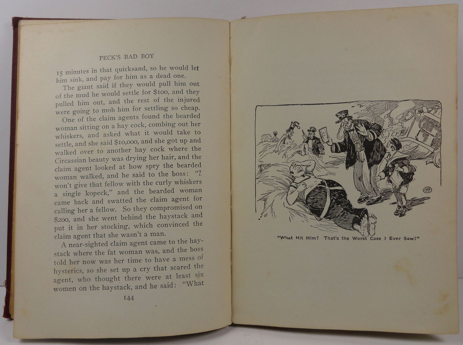 Peck's Bad Boy with the Circus by Hon. George W. Peck