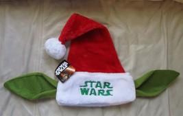 Star Wars Yoda Ears Santa Hat NEW - $14.85