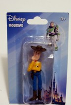 DisneyToy Stoy Sheriff Woody Mini Figure Figurine Toy Stocking Stuffer N... - $3.99