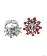 Women's Ring Illumination Crystal Ring AB Crystal Rhinestones Stretch Si... - $8.90