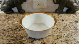 "Rosenthal Kurforstendamm Ascot 7 5/8"" Round Serving Bowl Gold - $38.60"