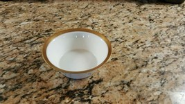 "Rosenthal Kurforstendamm Ascot 4 3/4"" Fruit Bowl Gold - $8.90"
