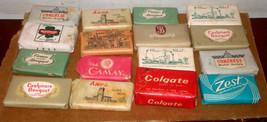 SIXTEEN VINTAGE MOTEL SOAPS CIRCA 1950'S-1960'S - $21.99