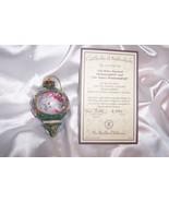 BRADFORD EXCHANGE LENA LIU 'S PORCELAIN HUMMINGBIRD ORNAMENT/The Anna's ... - $14.99