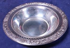 Rogers Lunt & Bowlen Sterling Silver 209 Nut Bon Bon Reticulated Bowl 83563 Dw - $123.75