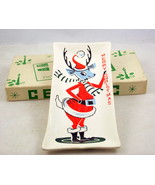 Vintage Commodore Japan retro reindeer ceramic ... - $12.00