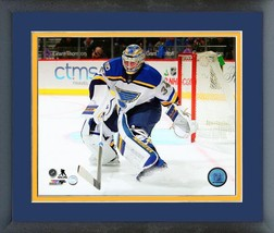 Jake Allen 2016-17 St. Louis BluesAction on Ice - 11 x 14 Matted/Framed Photo - $42.95