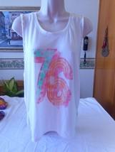 Women's Juniors Arizona Cream 76 Twist Tank Top Size Large NEW - $12.86