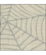 ** Cobweb 28ct linen 17x19 halloween printed cross stitch Fabric Flair - $18.75