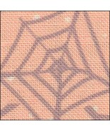 ** Webs & Dots HandDyed Effect 28ct Linen 17x19 cross stitch fabric Fabr... - $18.75
