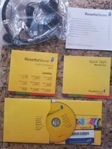 Rosetta Stone Spanish Package - $50.00