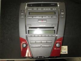 07 08 09 Lexus ES350 Radio 6 Cd Climate Control #86120-33720 *See Item* - $99.00