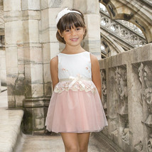 Mayoral Little Girl 2-9 Embroidered Tulle Dress