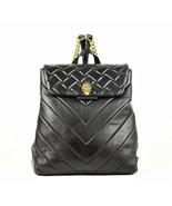 Kurt Geiger London Kensington Quilted Leather Backpack - Black (Retail $... - $143.55