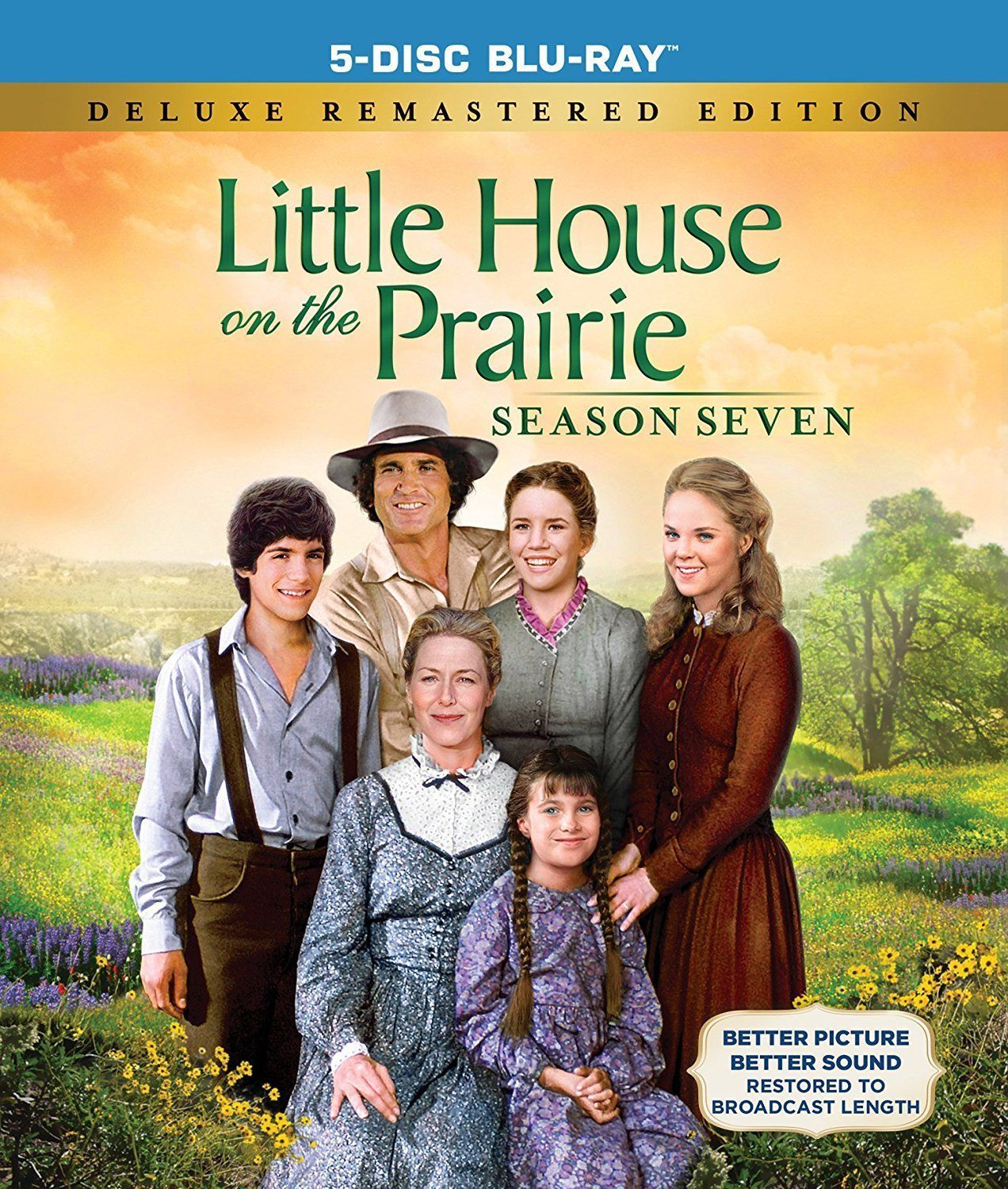 Primary image for Little House on the Prairie: Complete Seventh Season 7 Blu-ray New TV Series