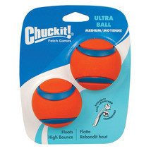 Ultra Ball Dog Toy - 2 pk - no ordinary ball - high bouency visibility - $19.50