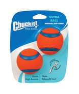 Ultra Ball Dog Toy - 2 pk - no ordinary ball - high bouency visibility - £14.31 GBP