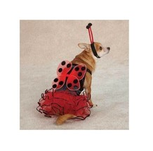 Lucky Bug for Dog Halloween Costume - ladybug dog costume ! XS - $14.20