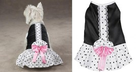 Cocktail Party Dress for Dogs - East Side Collection - xSmall Size Dog C... - $16.83
